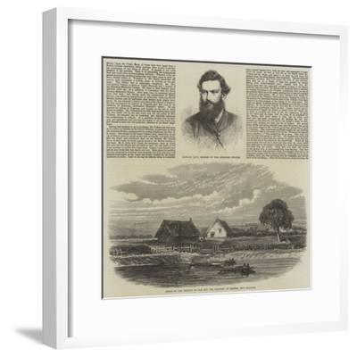 The Murder of a Missionary by the Maoris in New Zealand--Framed Giclee Print