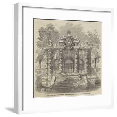 The Water-Gate of York House, Buckingham-Street, Strand--Framed Giclee Print