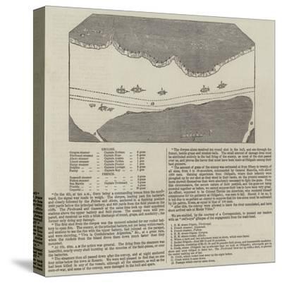 Anglo-French Blockade of the Rio De La Plata--Stretched Canvas Print