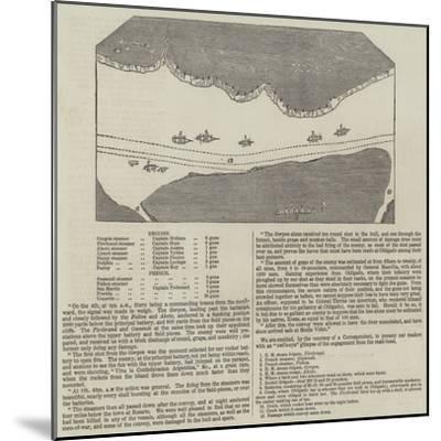 Anglo-French Blockade of the Rio De La Plata--Mounted Giclee Print