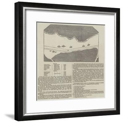 Anglo-French Blockade of the Rio De La Plata--Framed Giclee Print