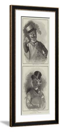 Sporting Dogs--Framed Giclee Print