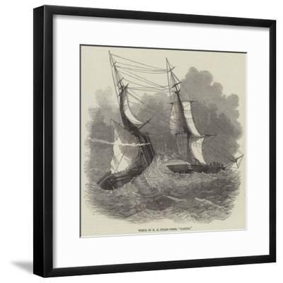 Wreck of Hm Steam-Vessel Flamer--Framed Giclee Print