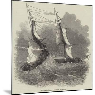 Wreck of Hm Steam-Vessel Flamer--Mounted Giclee Print