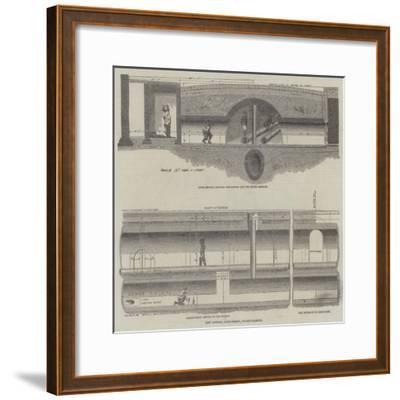 Subway, Covent Garden Approach--Framed Giclee Print