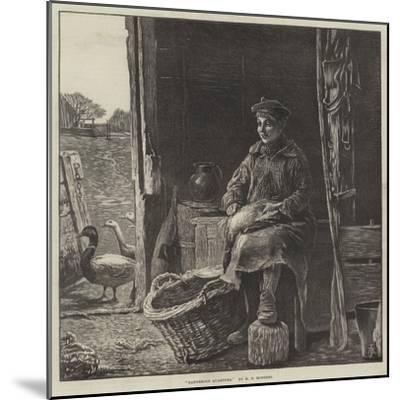 Dangerous Quarters--Mounted Giclee Print