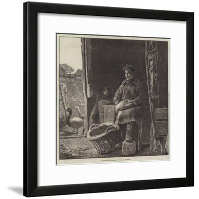 Dangerous Quarters--Framed Giclee Print
