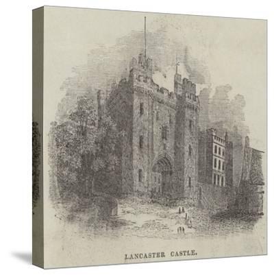 Lancaster Castle--Stretched Canvas Print