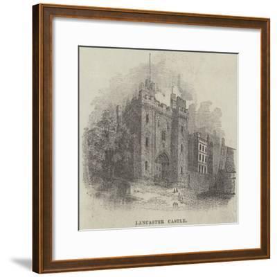 Lancaster Castle--Framed Giclee Print