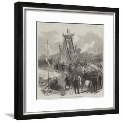 Opening of the Clifton Suspension Bridge--Framed Giclee Print