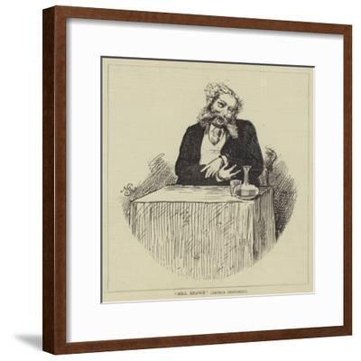 Mrs Brown (Arthur Sketchley)--Framed Giclee Print