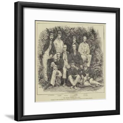The Thames Rowing Club Eight--Framed Giclee Print