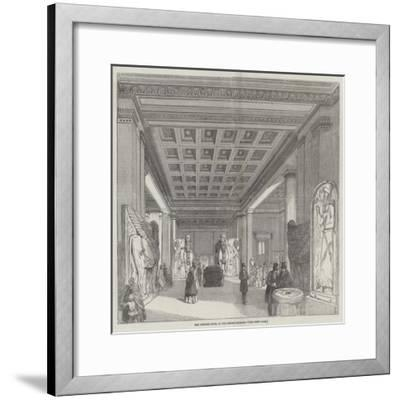 The Nineveh Room, at the British Museum--Framed Giclee Print