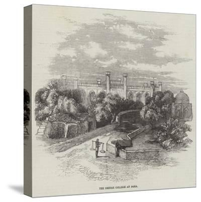 The British College at Agra--Stretched Canvas Print