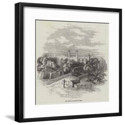 The British College at Agra--Framed Giclee Print