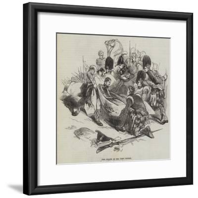 The Death of Sir John Moore--Framed Giclee Print