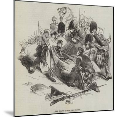 The Death of Sir John Moore--Mounted Giclee Print