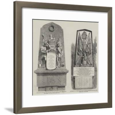 Crimean War Memorials--Framed Giclee Print