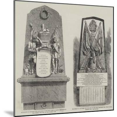 Crimean War Memorials--Mounted Giclee Print