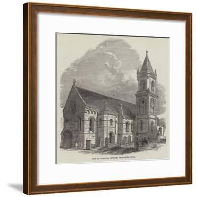 Old St Pancras Church Re-Constructed--Framed Giclee Print