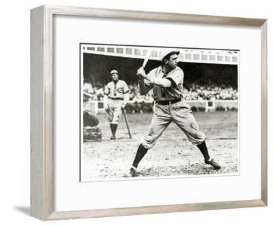 Joe Tinker of the Chicago Cubs in Action During 1906--Framed Giclee Print