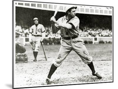 Joe Tinker of the Chicago Cubs in Action During 1906--Mounted Giclee Print