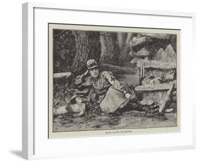 Miss Kate Marsden--Framed Giclee Print