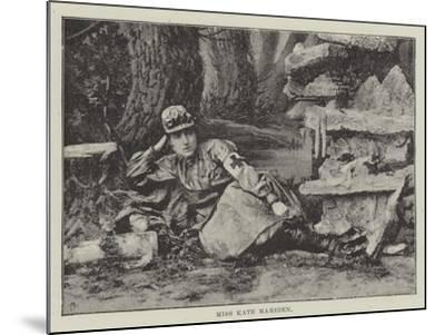 Miss Kate Marsden--Mounted Giclee Print