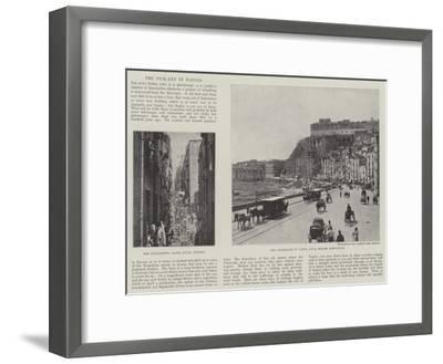 The Pick-Axe in Naples--Framed Giclee Print