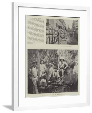 The Rebellion in Cuba--Framed Giclee Print