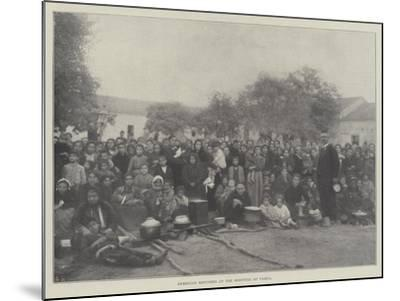 Armenian Refugees at the Hospital at Varna--Mounted Giclee Print