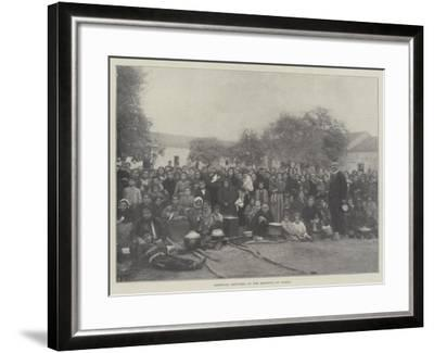 Armenian Refugees at the Hospital at Varna--Framed Giclee Print