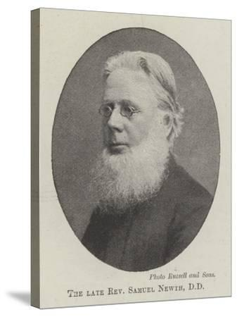 The Late Reverend Samuel Newth--Stretched Canvas Print