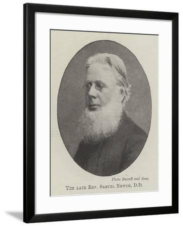 The Late Reverend Samuel Newth--Framed Giclee Print