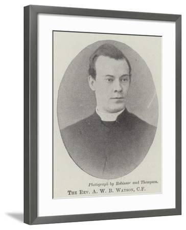 The Reverend A W B Watson--Framed Giclee Print