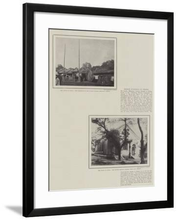 The Crisis in China--Framed Giclee Print