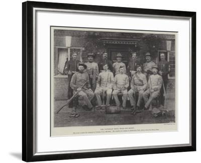 The Victorian Rifle Team for Bisley--Framed Giclee Print