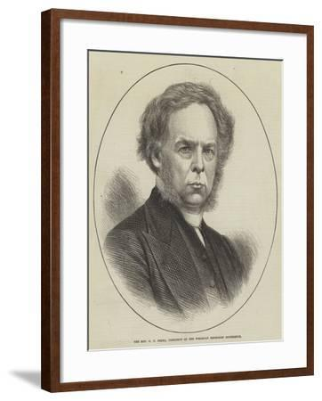 The Reverend G T Perks, President of the Wesleyan Methodist Conference--Framed Giclee Print