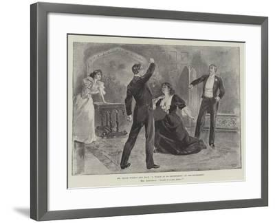 Mr Oscar Wilde's New Play, A Woman of No Importance, at the Haymarket--Framed Giclee Print