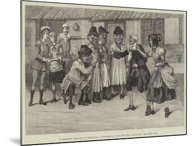 A Soldiers' Theatre at Woolwich, Pantomime at the Artillery Barracks--Mounted Giclee Print