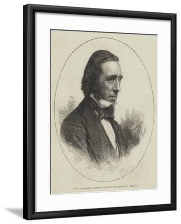 Mr G a Macfarren, Professor of Music at the University of Cambridge--Framed Giclee Print