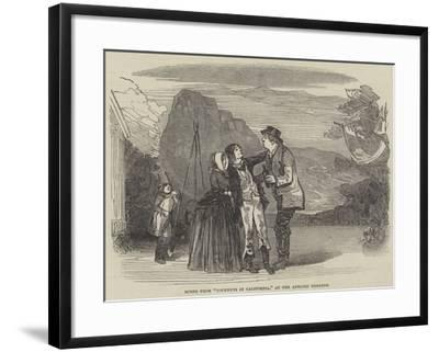 Scene from Cockneys in California, at the Adelphi Theatre--Framed Giclee Print