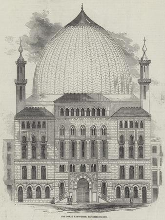The Royal Panopticon of Science and Art, Leicester-Square--Framed Giclee Print