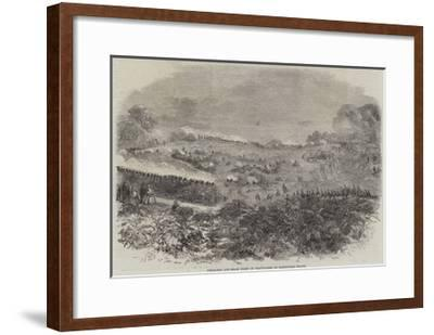 Field-Day and Sham Fight of Volunteers on Hampstead Heath--Framed Giclee Print