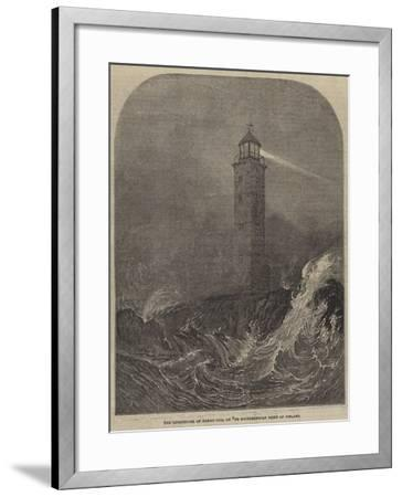 The Lighthouse of Hango-Udd, on the Southernmost Point of Finland--Framed Giclee Print