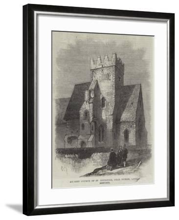Ancient Church of St Doulough, Near Dublin, Lately Restored--Framed Giclee Print
