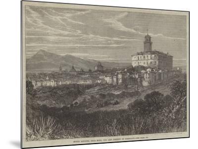 Monte Rotondo, Near Rome, the Last Position of Garibaldi--Mounted Giclee Print