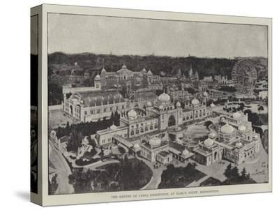 The Empire of India Exhibition, at Earl's Court, Kensington--Stretched Canvas Print