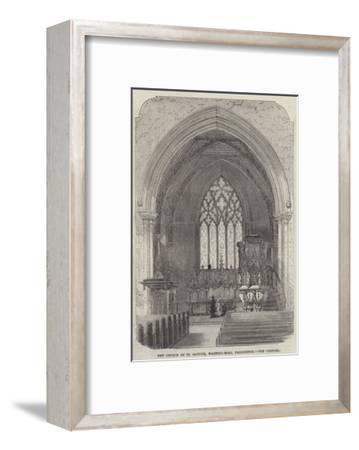 New Church of St Saviour, Warwick-Road, Paddington, the Chancel--Framed Giclee Print