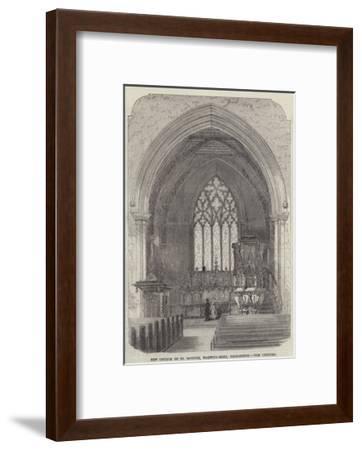 New Church of St Saviour, Warwick-Road, Paddington, the Chancel--Framed Giclee Print